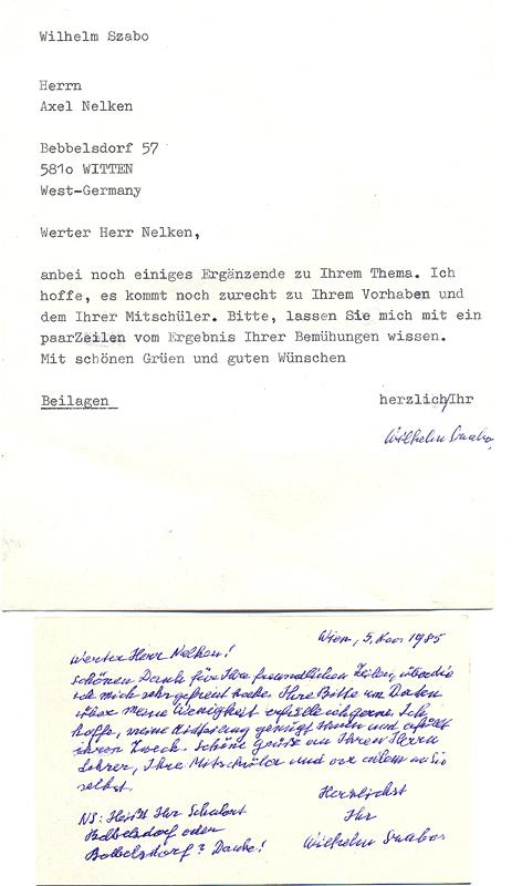 Zabo Typoskript Dina5 Ohne Datum Mit Eigenh Unterschrift Und